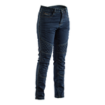 RST Straight Leg Ladies CE Aramid Jeans - Dark Wash Blue