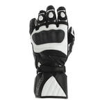 RST GT CE Gloves - Black / White
