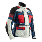 RST Pro Series Adventure 3 Ladies CE Textile Jacket - Ice / Blue / Red