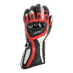 RST R-18 Semi-Sport CE Gloves - Black / Red