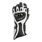 RST R-18 Semi-Sport CE Gloves - Black / White