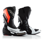RST Tractech Evo 3 CE Boots - White / Flo Red