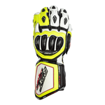 RST Tractech Evo R CE Gloves - White / Black / Flo Yellow