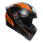 AGV K1 Warm Up - Matt Black / Orange