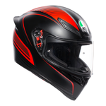 AGV K1 Warm Up - Matt Black / Red