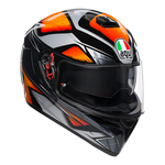 AGV K3 SV Liquefy - Grey / Orange