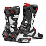 Sidi Rex Air Motorcycle Boots White / Black