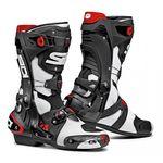 Sidi Rex Air Motorcycle Boots White / Black
