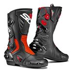 Sidi Vertigo 2 Boots - Black / Flo Red