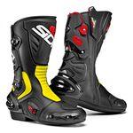 Sidi Vertigo 2 Boots - Black / Flo Yellow