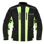 Buffalo Ranger Children's Jacket - Black / Neon