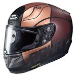HJC RPHA 11 Quintain - Gold, Brown and Silver | HJC RPHA 11 Helmet | Two Wheel Centre
