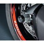 Suzuki Katana Rear Axle Slider Set | Suzuki Genuine Accessories | Two Wheel Centre