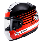 Arai Debut Page - Red | Arai Helmets at Two Wheel Centre
