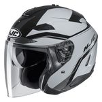 HJC IS-33 2 Korba Open Face Helmet Black