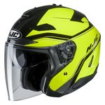 HJC IS-33 2 Korba Open Face Helmet Fluo Yellow