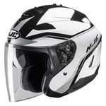 HJC IS-33 2 Korba Open Face Helmet White