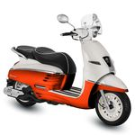 Peugeot Django 50cc Orange / Black for sale Mansfield Nottingham Midlands