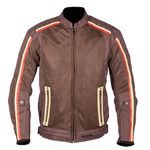 Spada Utah Winds Vented Textile Jacket - Brown