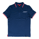 RST Casual Cotton Polo Shirt - Navy