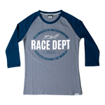 RST Ladies Original 1988 T-Shirt - Grey / Navy