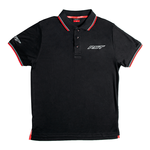 RST Casual Polyester Polo Shirt - Black