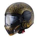 Caberg Ghost Maori - Black / Gold