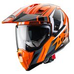 Caberg X-Trace Savana - Orange / Black / Anthracite / White | Caberg Helmets at Two Wheel Centre