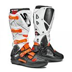 Sidi Crossfire 3 SRS Boots Orange / Black / White