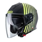 Caberg Flyon Bakari - Matt Black / Yellow | Caberg Helmets at Two Wheel Centre