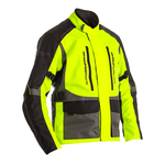 RST Atlas Textile Jacket - Flo Yellow / Black / Grey