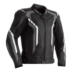 RST Axis Leather Jacket - Black / Grey / White