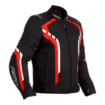 RST Axis Textile Jacket - Black / Red / White