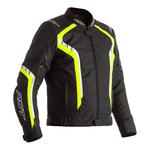 RST Axis Textile Jacket - Black / Flo Yellow / White