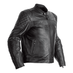 RST Isle Of Man TT Brandish Leather Jacket - Black