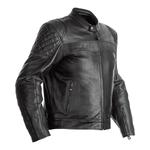RST Isle Of Man TT Brandish Leather Jacket - Black