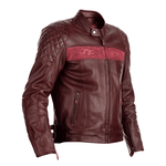 RST Isle Of Man TT Brandish Leather Jacket - Oxblood