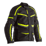 RST Maverick Textile Jacket - Black / Neon