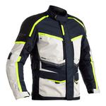 RST Maverick Textile Jacket - Blue / Silver / Neon