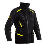 RST Pro Series Pathfinder Laminated Textile Jacket - Black / Flo Yellow