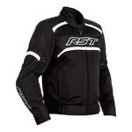 RST Pilot Air Textile Jacket - Black / White