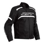 RST Pilot Textile Jacket - Black / White