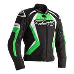 RST Tractech Evo 4 Textile Jacket - Black / Green / White