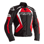 RST Tractech Evo 4 Textile Jacket - Black / Red / White