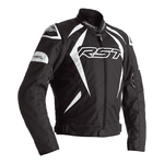 RST Tractech Evo 4 Textile Jacket - Black / White