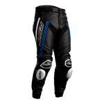 RST Tractech Evo R Leather Jeans - Black / Blue / White