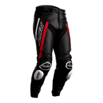 RST Tractech Evo R Leather Jeans - Black / Red / White