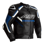 RST Tractech Evo R Leather Jacket - Black / Blue / White