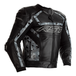 RST Tractech Evo R Leather Jacket - Black / Camo