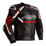 RST Tractech Evo R Leather Jacket - Black / Red / White